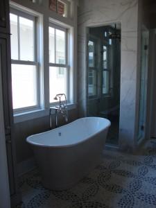Porter Smith Designs Elegant Master Bath
